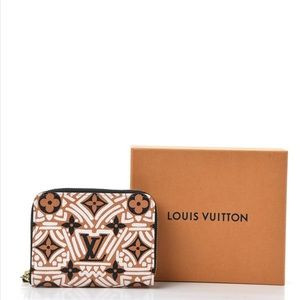 Louis Vuitton Monogram Giant Crafty Zip Coin Purse
